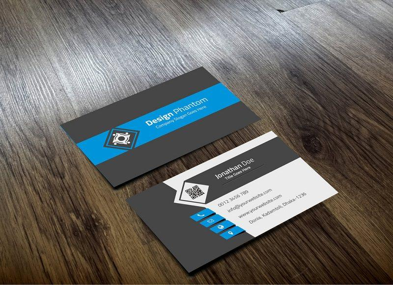 Template For A Business Card
