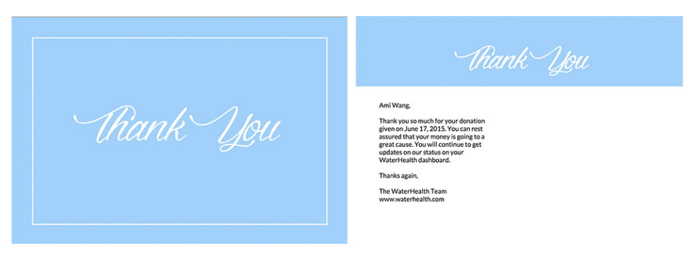 44×6 Thank You Postcard. 4×6 Printable Postcard Template ...  Postcard Template Free Printable