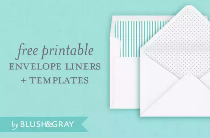 4free envelope liners and templates - Free Envelope Template