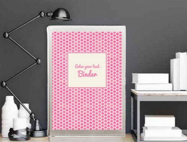 free personalized binder covers