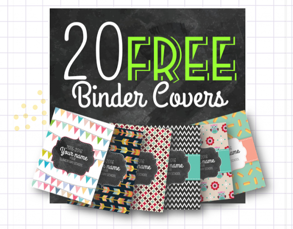 Free Binder Covers for your Teacher Binder