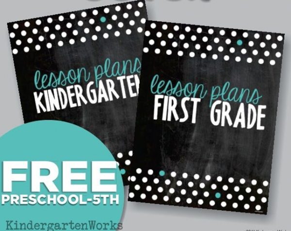 Free Teacher Planning Binder Covers
