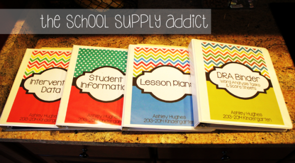 Binder & Product Cover Freebies