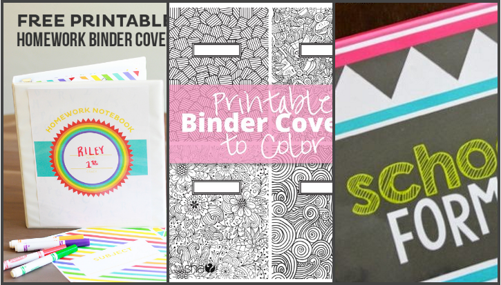 graphic about Printable Binder Inserts known as 150+ Free of charge One of a kind Resourceful Binder Protect Templates UTemplates