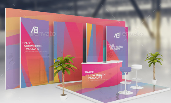 Exhibition Booth Mockup Free Download : Awesome free banner mockups psd templates utemplates