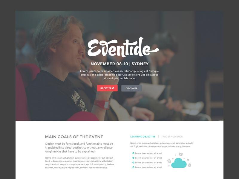 eventide_landing_page_template