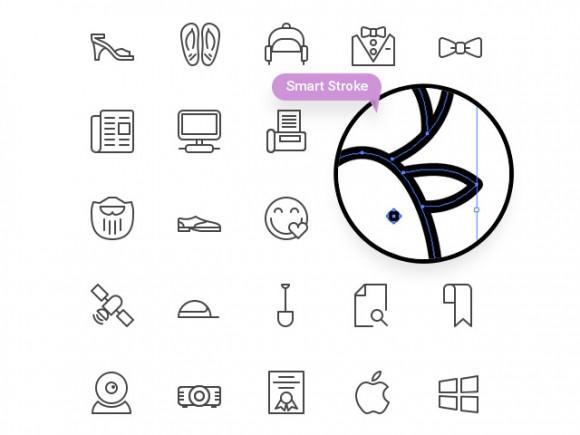 100_free_line_icons