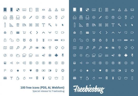 100_free_icons_psd_ai_webfont