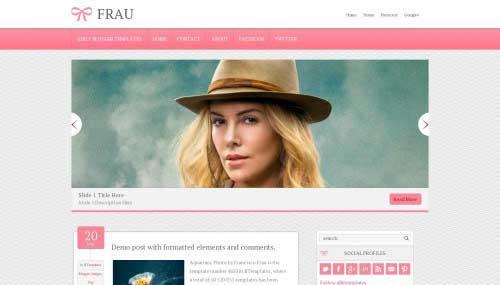 frau_blogger_template