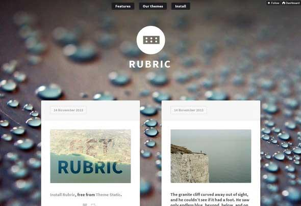rubric_tumblr_theme