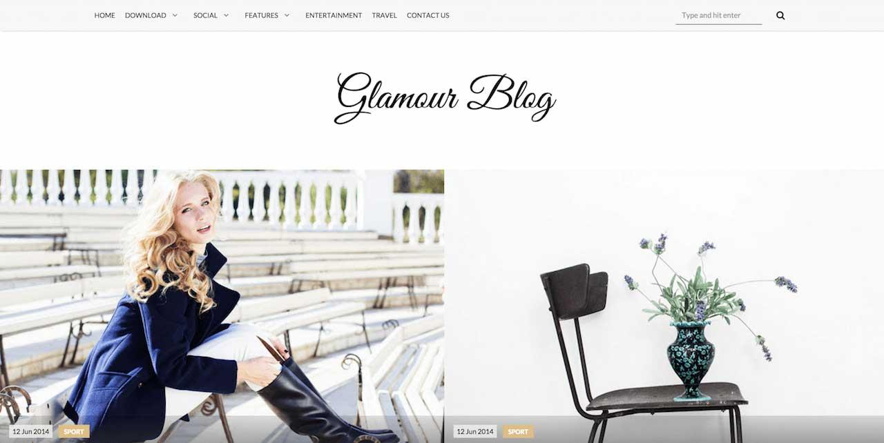 glamour_free_blogger_template
