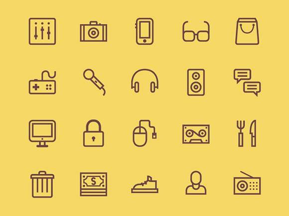 20_outline_icons_psd