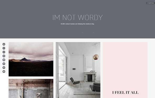 wordy_free_tumblr_theme