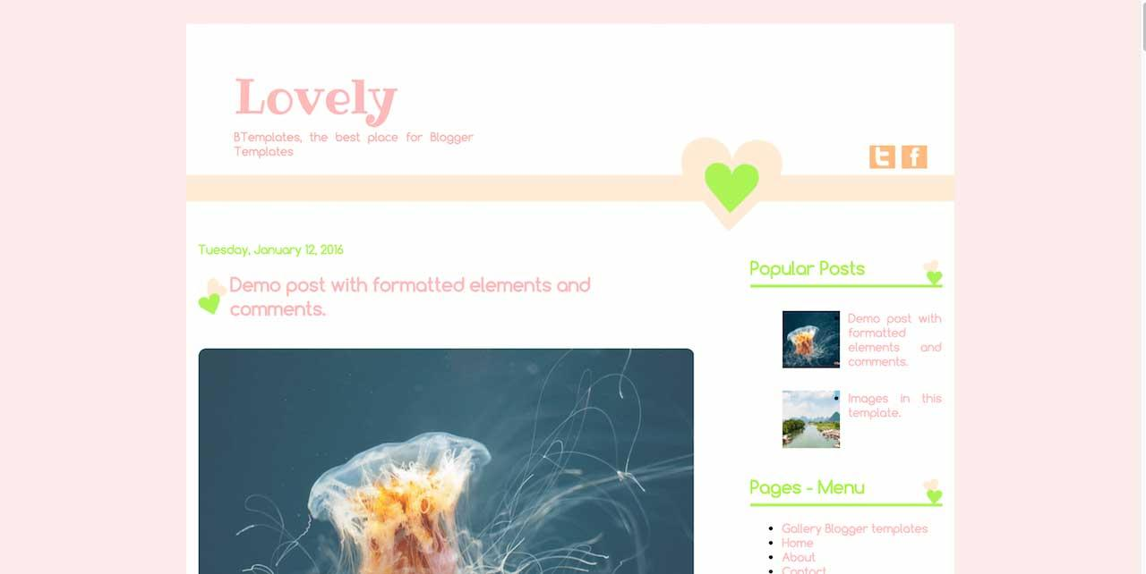 lovely_free_blogger_template