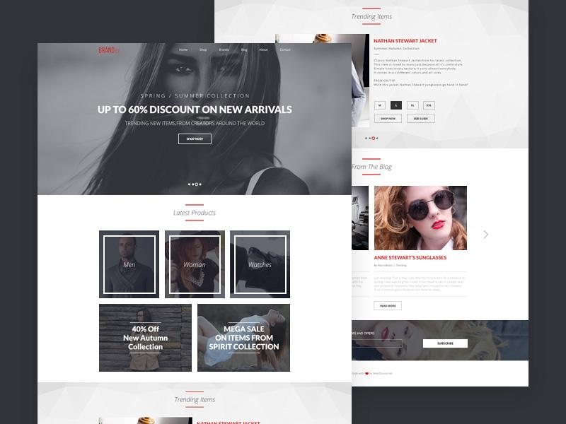 brandly_one_page_template