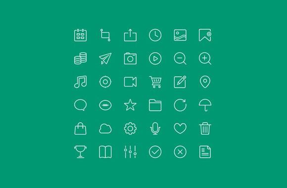 36_free_outline_icons_psd