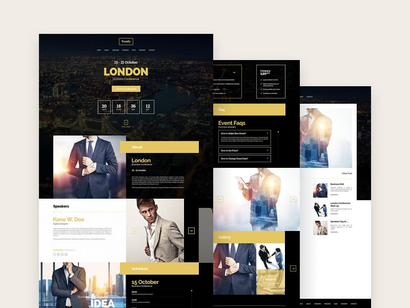 evently_event_&_meeting_template