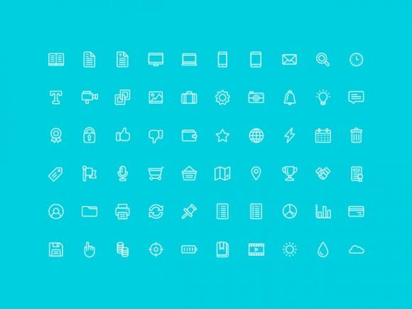 60_free_outline_icons_ai