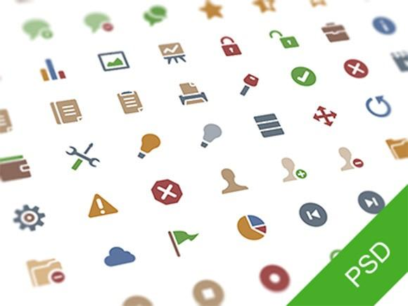 64_free_psd_flat_icons