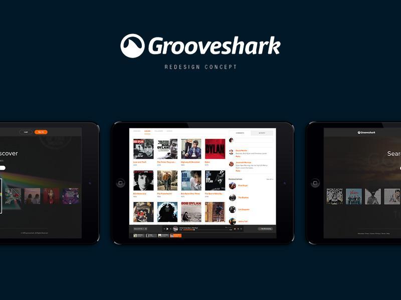 grooveshark_redesign_concept