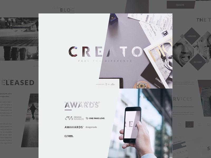 creato_blog_one_page