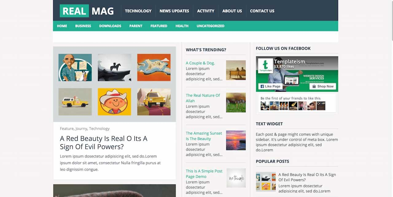 realmag_free_blogger_template