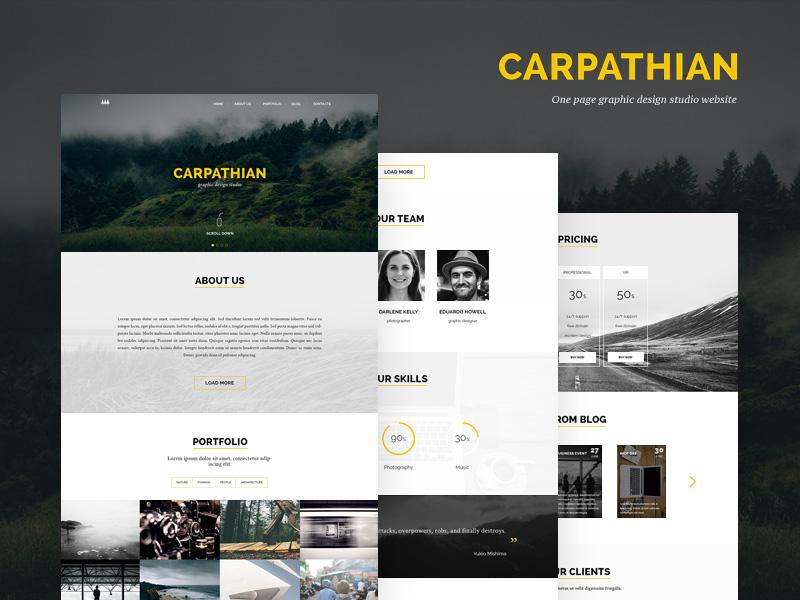 carpathian_bootstrap_template