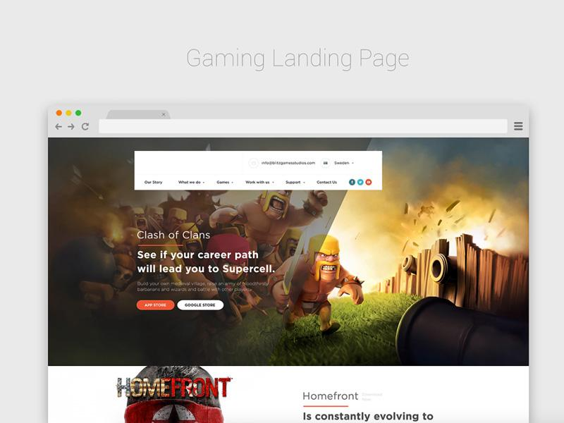 gaming_landing_page