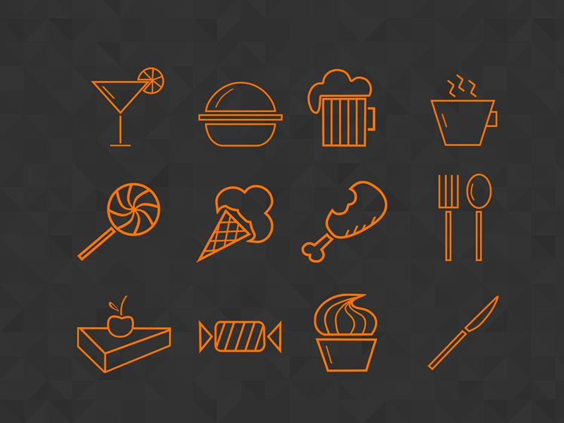 food_icons_set