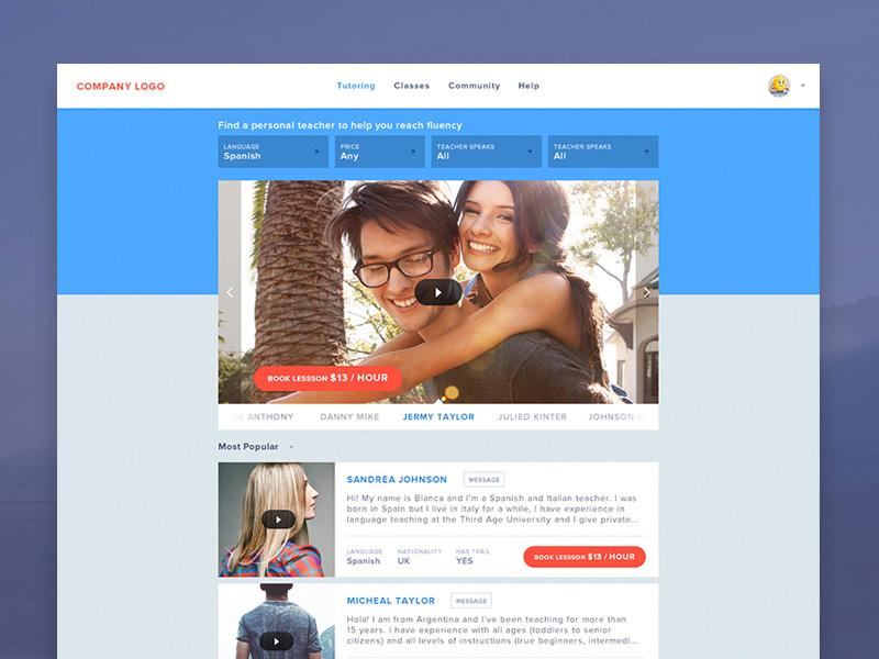 website_landing_page