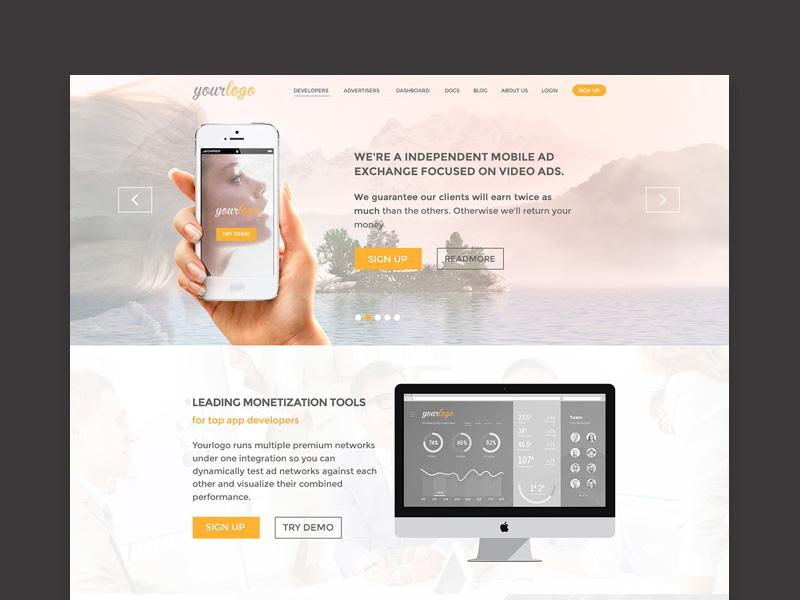 yourlogo_website_template