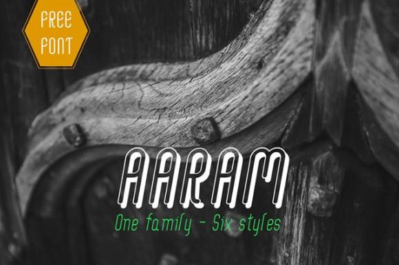 aaram_free_font