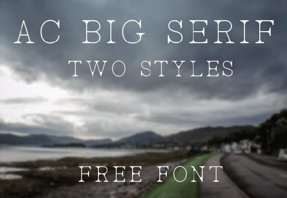 ac_big_serif_free_font
