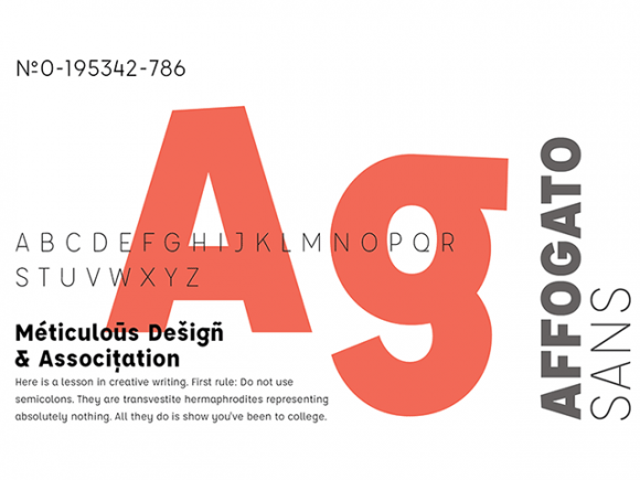 affogato_free_sansserif_typeface_in_5_weights