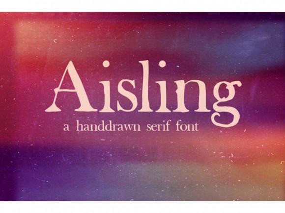 aisling_serif_free_font