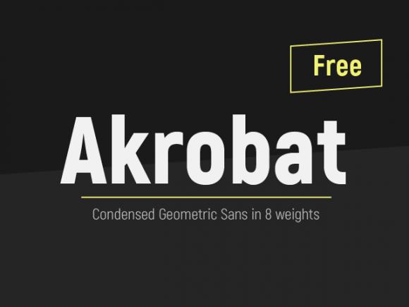 akrobat_modern_sans_serif_font_family