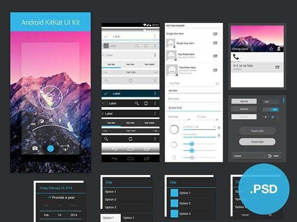100+ of The Best and Free App PSD UI Kits Templates | UTemplates Template Application Android Free on android interface, android home icon, android master-detail flow,