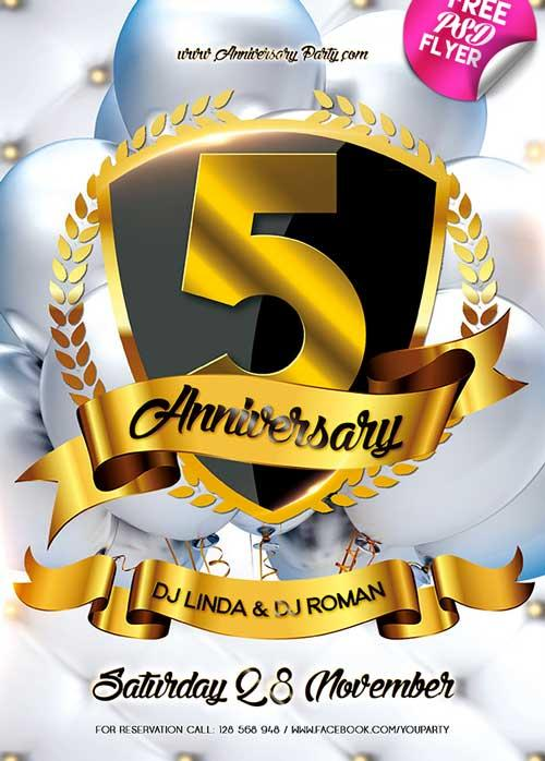 anniversary_party_free_psd_flyer_template
