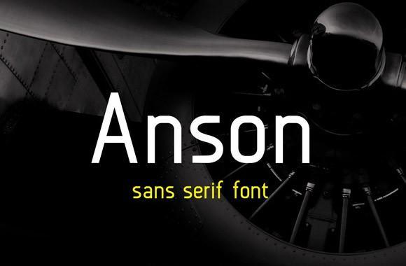 anson_free_sans_serif_font