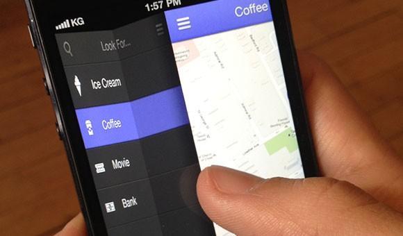app_fold_navigation_free_psd
