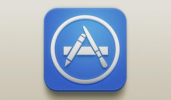 app_store_free_psd_icon