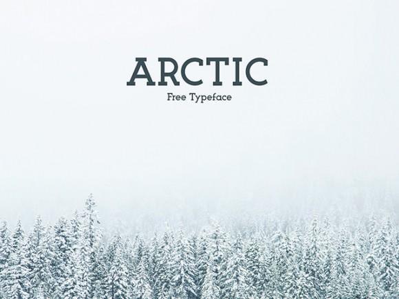 arctic_free_font