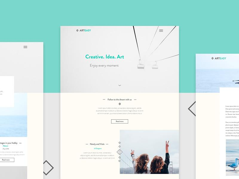 arteasy_website_template