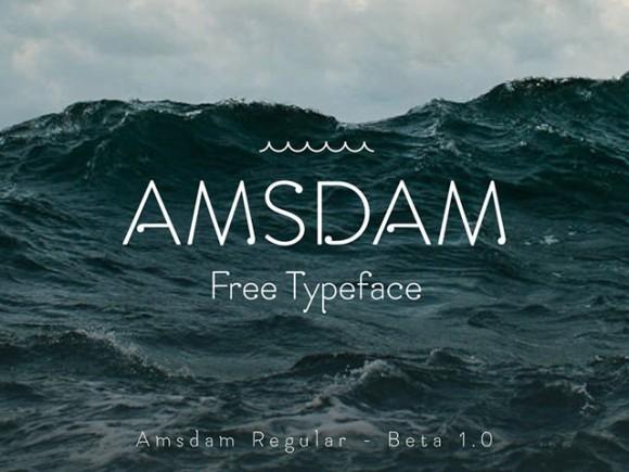 amsdam_free_font
