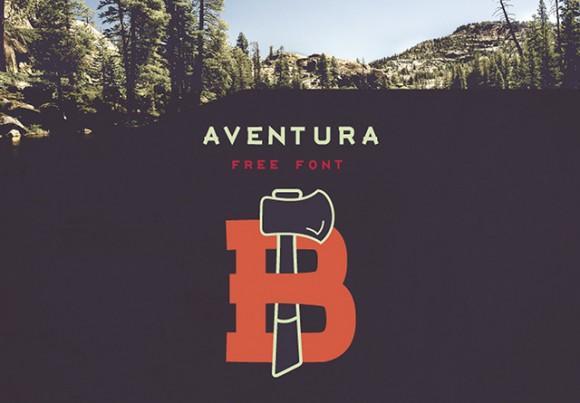aventura_free_font