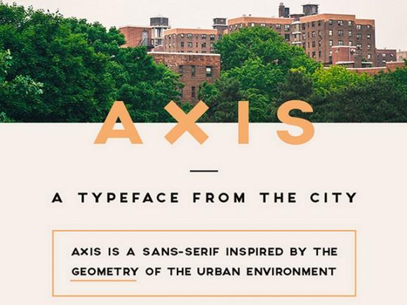 axis_free_font