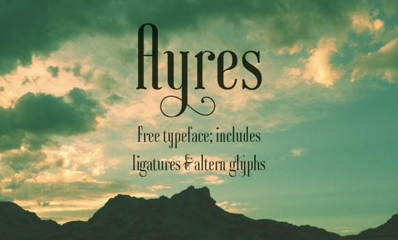 ayres_free_font