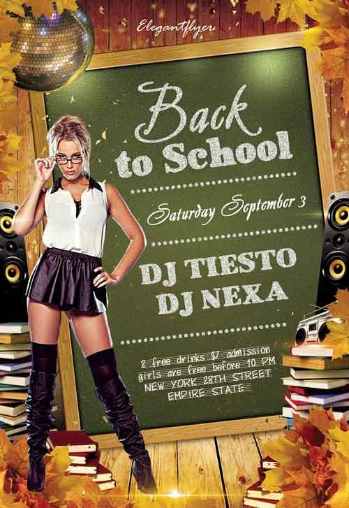 back_to_school_club_free_flyer_psd_template