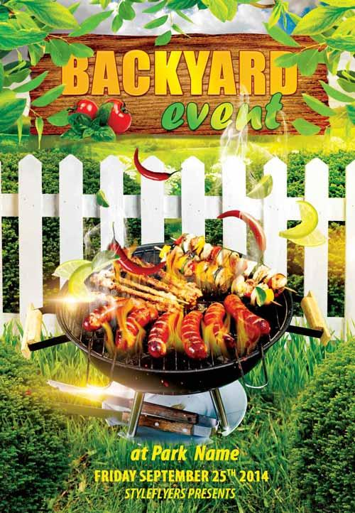 Hot  Free Barbecue  Bbq Flyers Templates  Utemplates