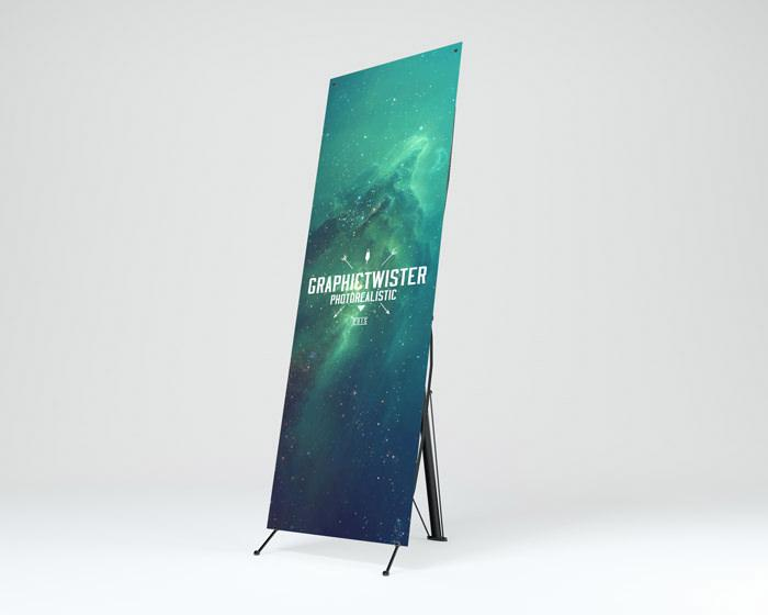 Small Exhibition Stand Mockup : 37 awesome free banner mockups psd templates utemplates